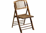 American Champion Bamboo Folding Chair - X-62111-BAM-GG