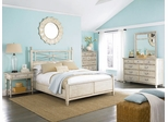 American Drew Americana Home 5PC King Bedroom Set - Weathered White - 114-326WR