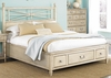 American Drew Americana Home King Platform Bed with Drawers - 114-336WR