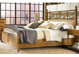 American Drew Americana Home King Size Low Poster Bed - 114-326R