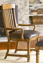 American Drew Americana Home Slat Back Arm Chair - Set of 2 - 114-637