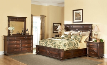 American Drew Barrington House 4PC King Bedroom Set - 126-316R