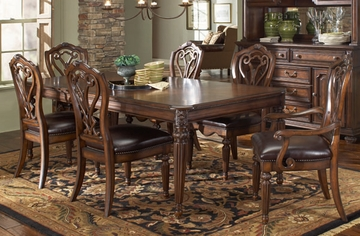 American Drew Barrington House 7PC Leg Table Dining Set - 126-760