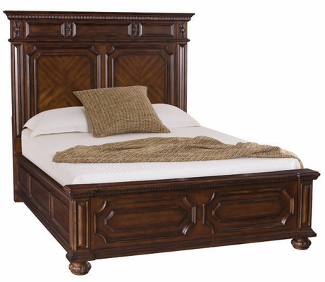 American Drew Barrington House Queen Panel Bed - 126-313R
