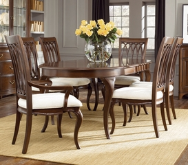 American Drew Cherry Grove New Generation 7PC Oval Dining Table Set - 091-760