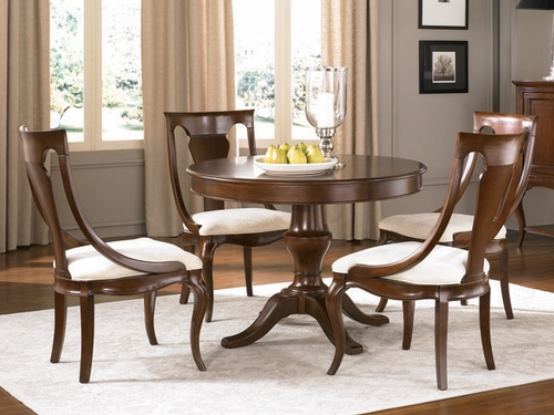 American Drew Cherry Grove New Generation Pedestal Table Dining Set - 091-701R
