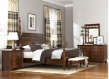 American Drew Cherry Grove New Generation Queen Poster Bed Bedroom Set - 091-324R