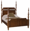 American Drew Cherry Grove New Generation Queen Size Poster Bed - 091-324R