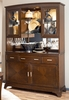 American Drew Essex Buffet with Hutch in Mink - 104-830R