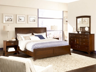 American Drew Essex King Bedroom Set with Dresser - 104-306R