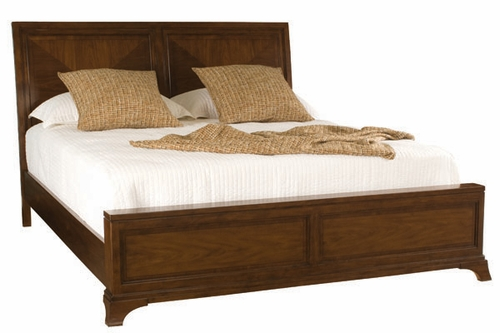 American Drew Essex Low Profile King Sleigh Bed - 104-306R