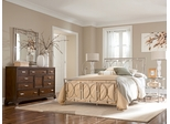 American Drew Essex Queen Bedroom Set with 2 Nightstands - 104-395R