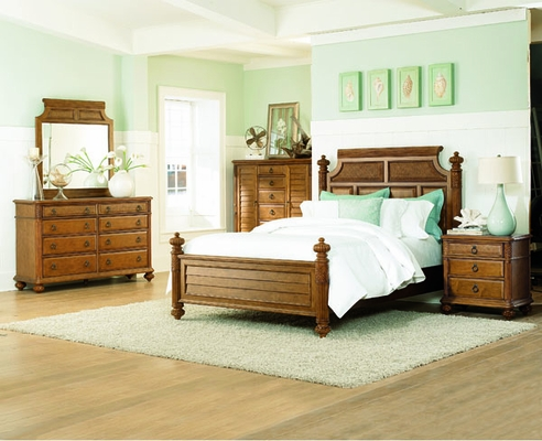 American Drew Grand Isle 5PC Queen Bedroom Set - 079-313NR