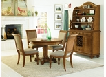 American Drew Grand Isle 8pc Round Dining Set - 079-701R
