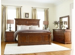 American Drew Laurel Springs King Size High Meadows Bedroom Set - 216-316R