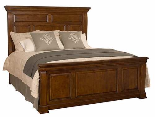 American Drew Laurel Springs King Size High Meadows Panel Bed - 216-316R