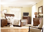 American Drew Laurel Springs King Sleigh Bed 5PC Bedroom Set - 216-306R