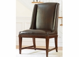 American Drew Laurel Springs Leather Hostess Chair - Set of 2 - 216-622