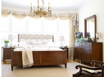 American Drew Miller's Creek 5pc Queen Bedroom Set in Rich Aged Cherry - 210-304R
