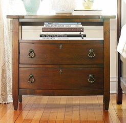 American Drew Miller's Creek Bachelor Chest in Cherry - 210-422