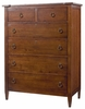 American Drew Miller's Creek Drawer Chest in Cherry - 210-215