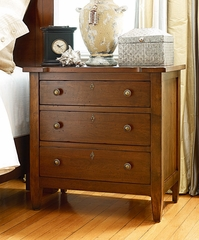 American Drew Miller's Creek Drawer Nightstand in Cherry - 210-420