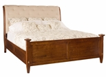 American Drew Miller's Creek King Upholstered Sleigh Bed - 210-306R