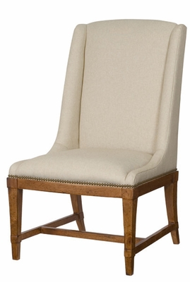 American Drew New River Fabric Hostess Chair - Set of 2 - 204-636