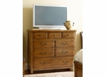 American Drew New River Media Chest with 7 Drawers - 204-225