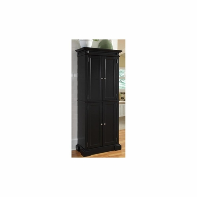 Americana Pantry Cabinet in Black - Home Styles - HS-5004-694