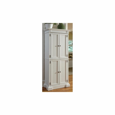 Americana Pantry Cabinet in White - Home Styles - HS-5004-692
