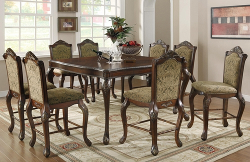 Andrea Traditional 9 Piece Pub Dining Set - 103118