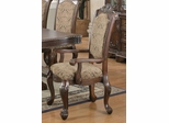 Andrea Traditional Upholstered Arm Chair - Set of 2 - 103113