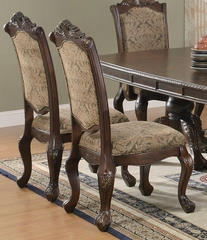 Andrea Traditional Upholstered Side Chair - Set of 2 - 103112