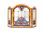 Anemone Fireplace Screen - Dale Tiffany