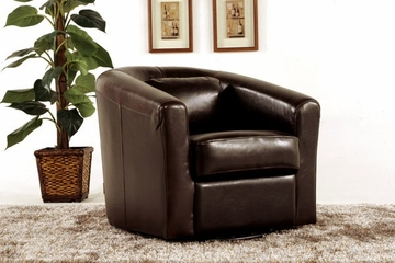 Angelica Low Profile Swivel Chair - Diamond Sofa - ANGELICAM