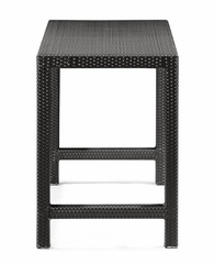 Anguilla Bar Height Outdoor Table in Chocolate - Zuo Modern - 701144