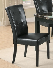Anisa Black Dining Side Chair - Set of 2 - 102772