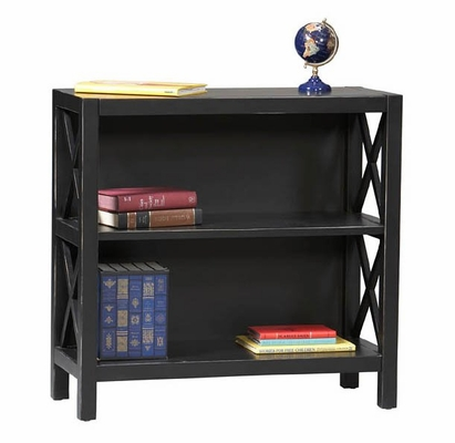Anna 3-Shelf Bookcase - Linon Furniture - 86104C124-01-KD-U