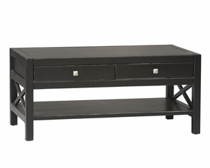 Anna Coffee Table - Linon Furniture - 86108C124-KD-U