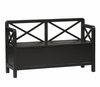 Anna Storage Bench - Linon Furniture - 86101C124-KD-U