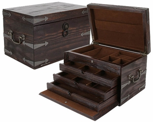 Anthology 3 Drawer Jewelry Box - JBQ-RL902