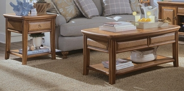 Antigua Accent Table Set - 2 Piece - Lea American Drew - 931-915-910