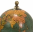Antique Finish Mini Globe On Wood Base (Set of 3) - IMAX - 73027-3