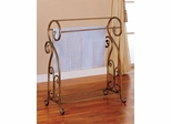 Antique Gold Metal Towel Rack - 900079