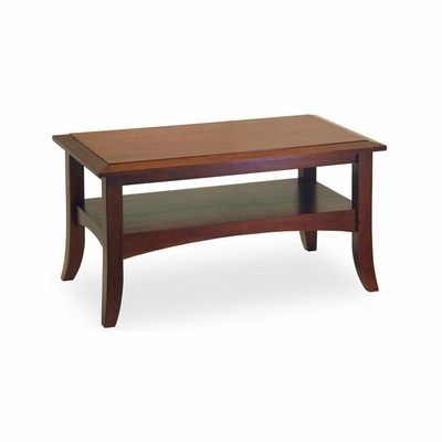 Antique Walnut Coffee Table - Winsome Trading - 94234