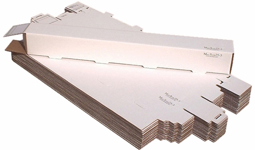 AOS MAILSTOR25-3 Self Locking Mailer and Storage Solution - 25/Pack