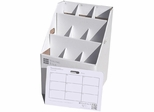 AOS SlantFile Rolled Document Storage - 9 Slots