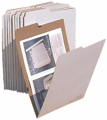 AOS VFOLDER19 Flat Storage File Folders - Package of 10