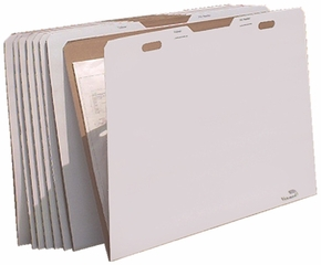 AOS VFOLDER43 Flat Storage File Folders - Package of 8